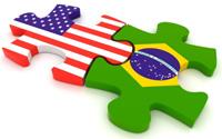 USA Brazil flag
